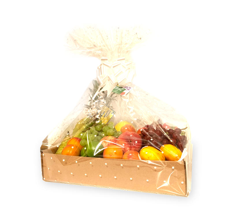 Fruit Basket With Gift Wrapping