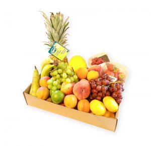 Fruit Basket Without Gift Wrapping